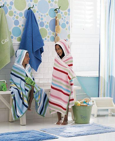 Gyerekfürdőszoba pöttyös