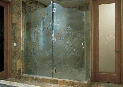 különleges zuhany ajtó