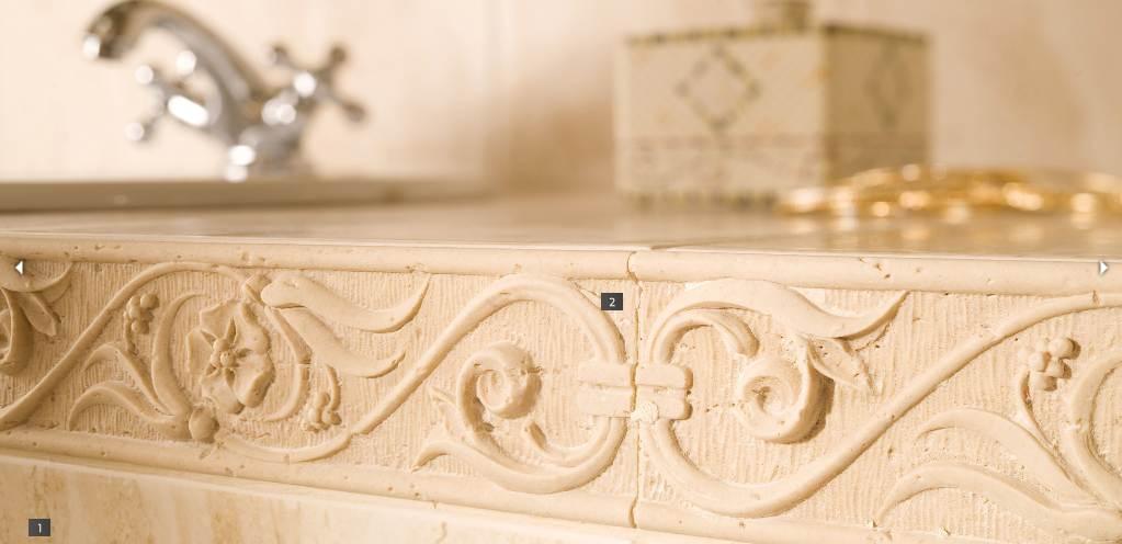Elegáns és klasszikus fürdőszoba csempe: Opoczno Amaro - Fürdőszoba Titkok