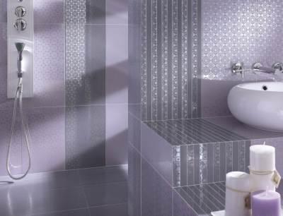 Piumetta lila fürdőszoba