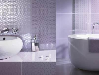 piumetta divatos és elegáns lila fürdőszoba