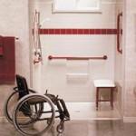 akadálymentes fürdőszoba