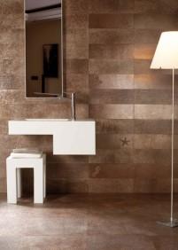 Csempe Csata 9.: Fürdőszoba tetőtől talpig bronzban - Fürdőszoba Titkok